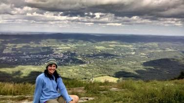 Highest peak in MA - Greylock