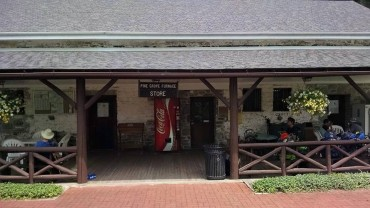 Pine Grove Genera Store right on trail in PA