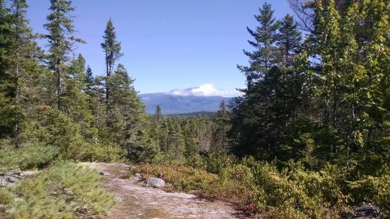 134 View of Katahdin from Rainbow Ledges