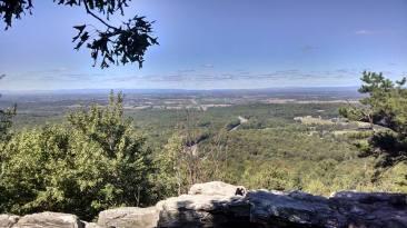 View from near Bear's Den Hostel