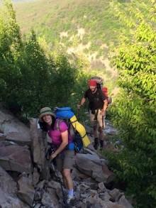 Climbing Lehigh Gap