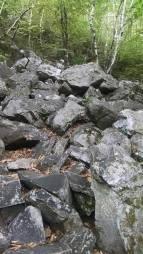 Rock climbs