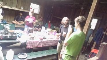 501 shelter trail magic