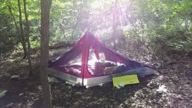 Campsite #2! <3