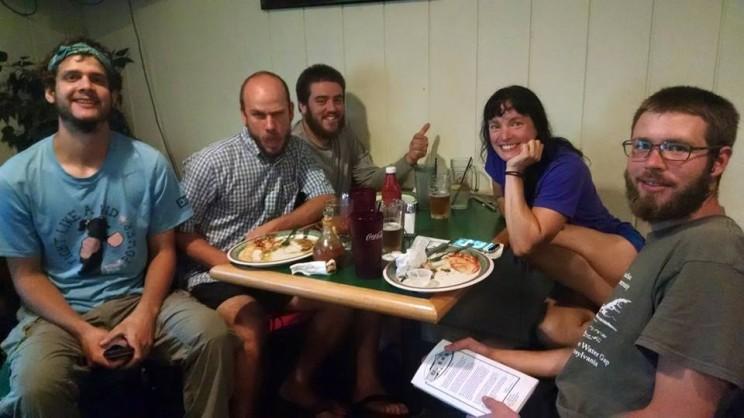 Jacob's pub with pals