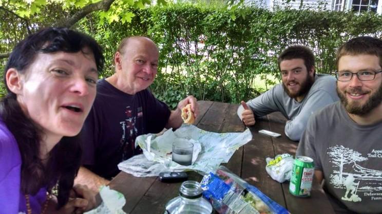 Clarity, Mr. Levardi, Trout, and Hercules