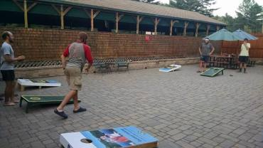 Cornhole at Northern Outdoors