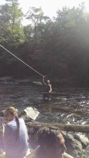 ...river fordings...
