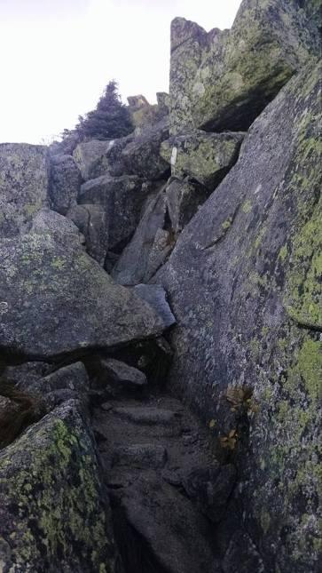 Climbing Katahdin!