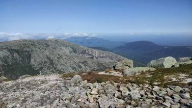 From the top of Katahdin!