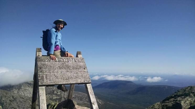 Mt Katahdin, Maine Sept 15