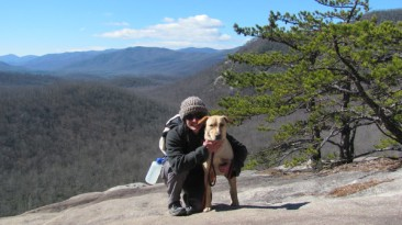 vday hike with maya